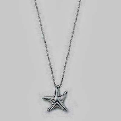 Charming and Silver, Star Shaped Necklace, So Beautiful