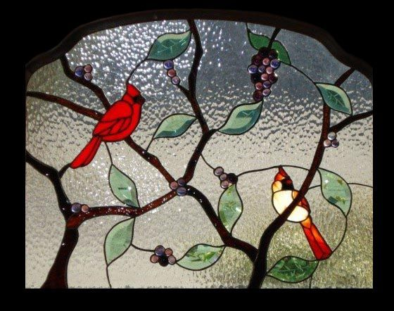 Stained glass cardinal pattern and restore virtually any stained glass cardinal pattern and restore virtually any stained glass panel planetlyrics Images