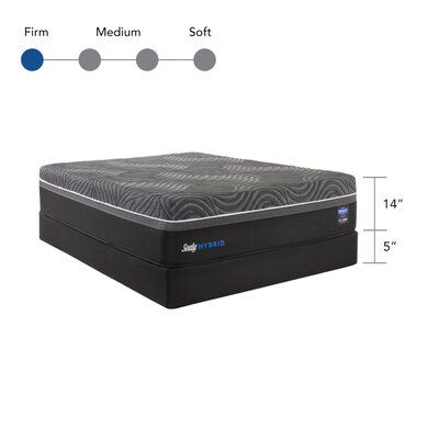 Sealy Sealy Hybrid Premium Silver Chill Cooling 14 Firm Mattress