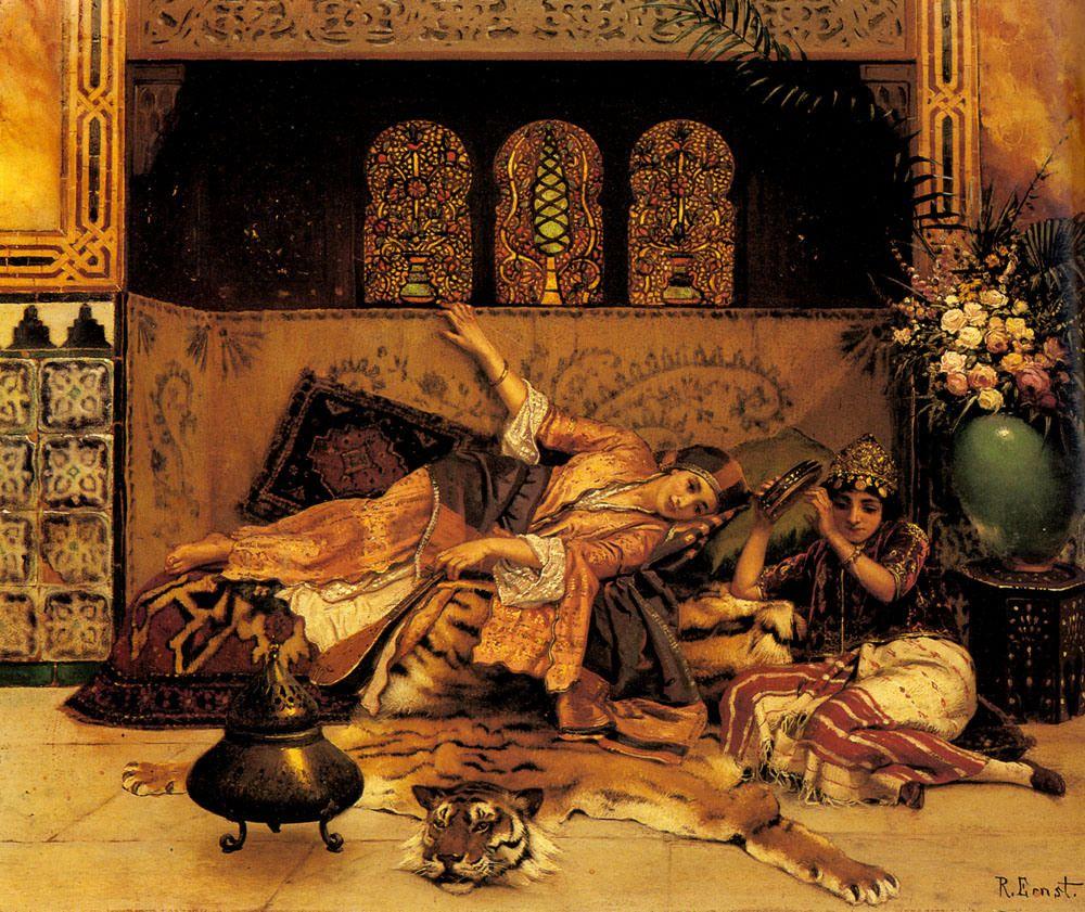Harem Life Ii Onok Art Art Art Painting Painting