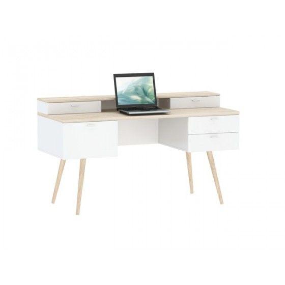 Bureau Design Vintage Trend Atylia Prix Promo Bureauatylia 399 00