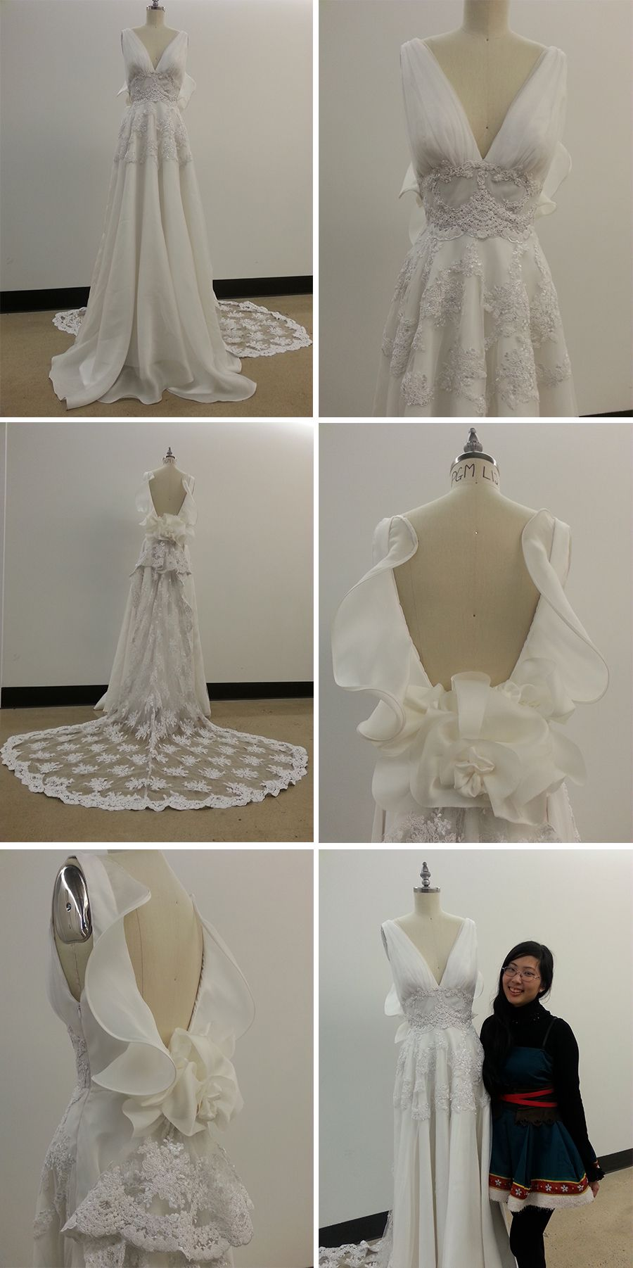 Fashion institute of technology students future bridal designers merry wu