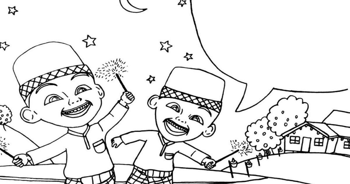 Terbaru 30 Gambar Kartun Hitam Putih Upin Ipin Di 2020 Dengan