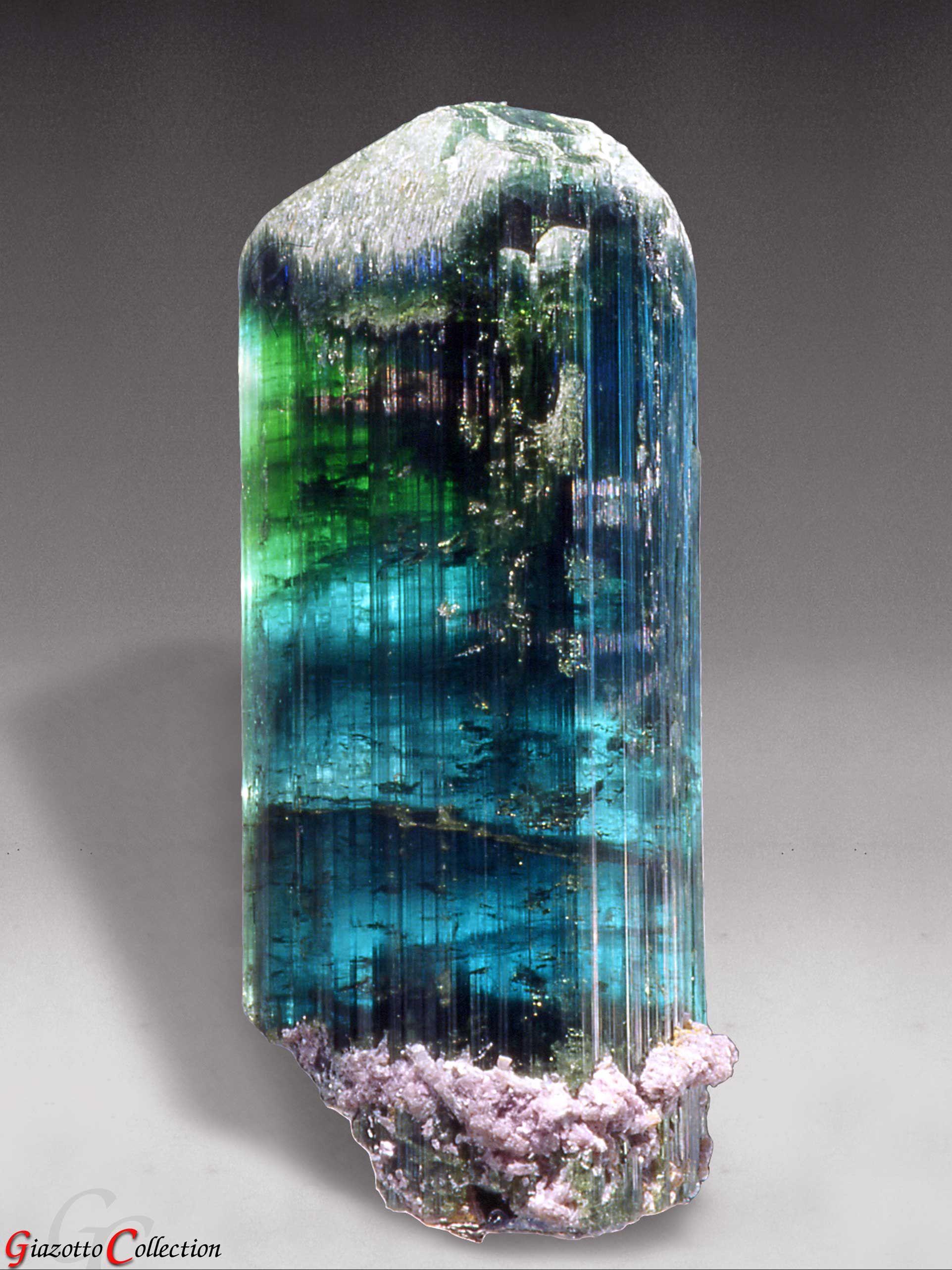 Blue Green Tourmaline