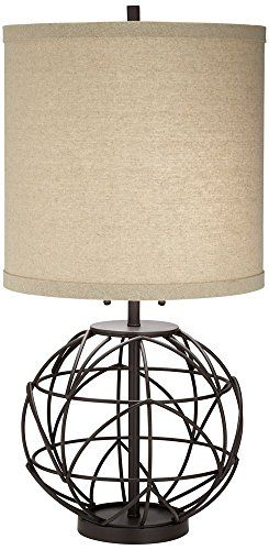 Pacific Coast Lighting Alloy Globe Table Lamp in Bronze >>> Read more reviews of the product by visiting the link on the image. This Amazon pins is an affiliate link to Amazon.