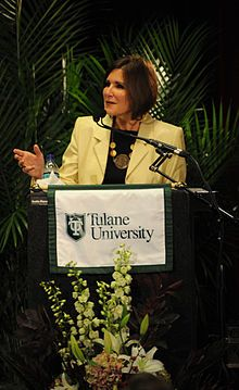 Mary Matalin (1953 - ) an American political consultant well known for her work with the Republican Party. She has served under President Ronald Reagan, was campaign director for George H.W. Bush, was an assistant to President George W. Bush, and counselor to Vice President Dick Cheney until 2003. Matalin has been chief editor of Threshold Editions, a conservative publishing imprint at Simon & Schuster, since March 2005. She is married to Democratic political consultant James Carville. She…