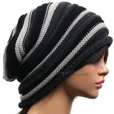 best slouchy Baggy BEANIE Unisex men women top rasta Hats ski winter Cap new  bcc 6afc0107944a