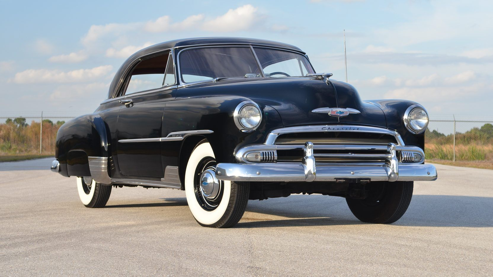 1951 Chevrolet Bel Air 2 Door Hardtop 1 Print Image
