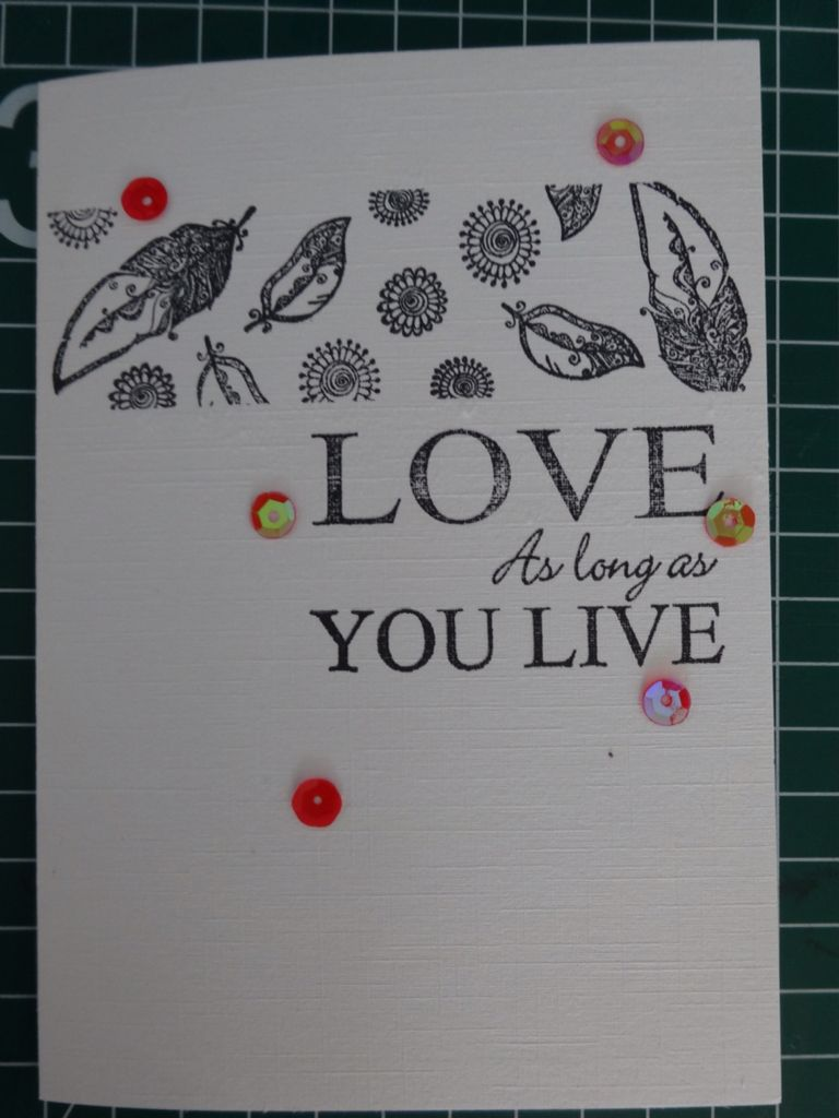 Love as long as you live