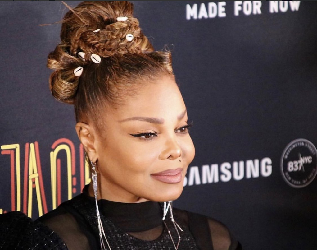 Janet Jackson Made For Now Video Song Release Party At Samsung