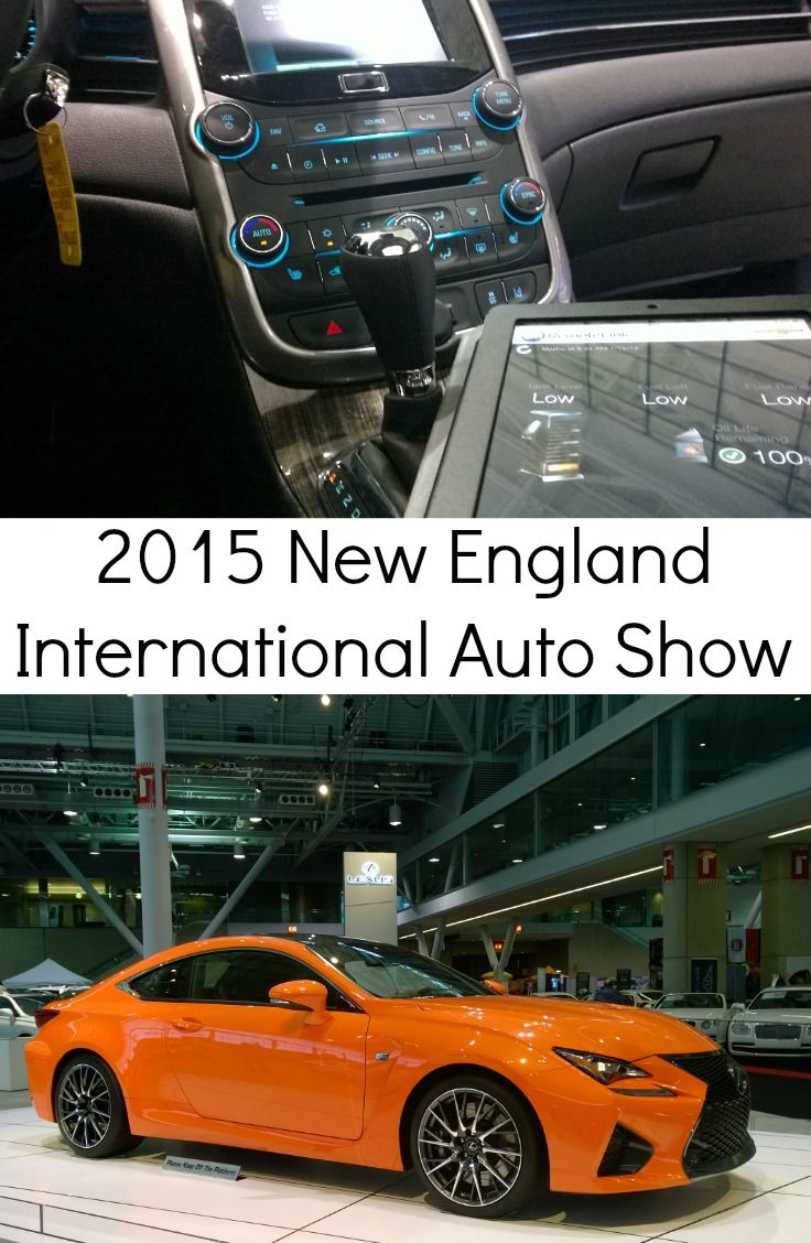 Sights From The New England International Auto Show Floor - New england car show boston