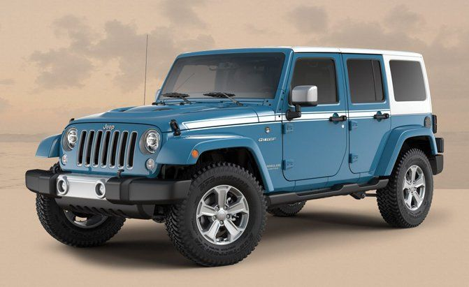 Jeep Adds Two Special Edition Models To Wrangler Lineup Jeep Wrangler 2017 Jeep Wrangler Jeep