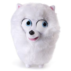 This Gidget Talking Toy From The Secret Life Of Pets Is A Fun Electronic Pet For Any Fan Of The Movie Secret Life Of Pets Animal Dolls Plush Animals