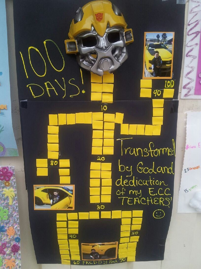 100 Days of School, Poster at E.C.C. In Eagle Pass, Texas. Great ... for Cool Poster Ideas For School Projects  287fsj