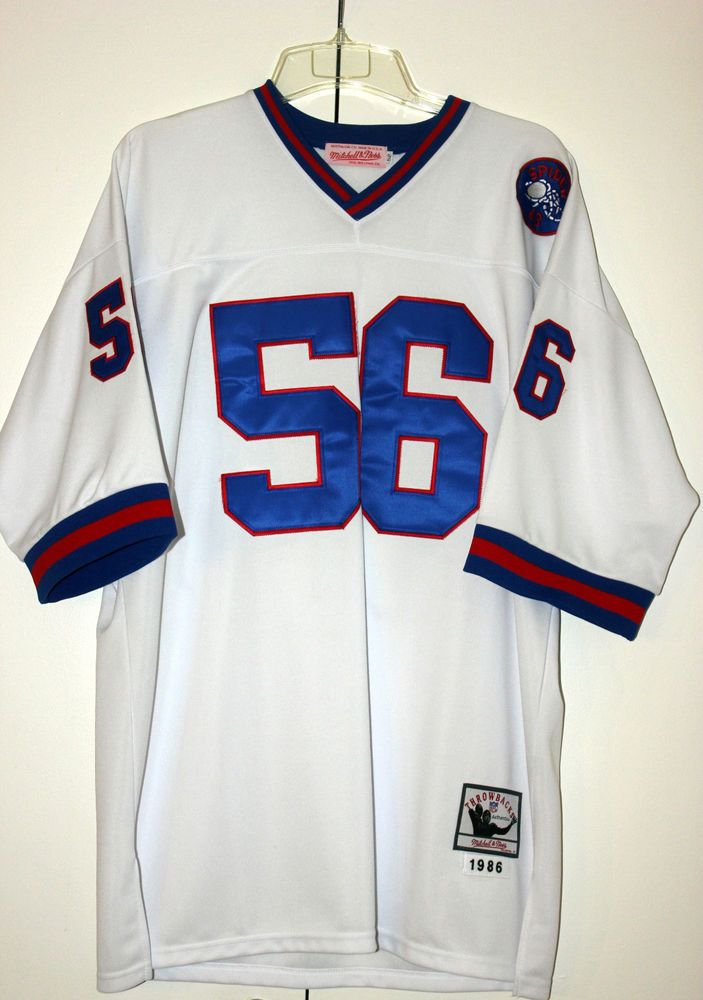 4e781a6c3d2 NWOT LAWRENCE TAYLOR #56 NY Giants 1986 Mitchell & Ness Throwback Jersey  Size 52