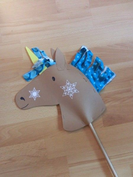 Photo of For our games on children's birthday I want a quick hobby horse …