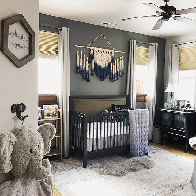 Trending On Project Nursery Instagram Gray Boho