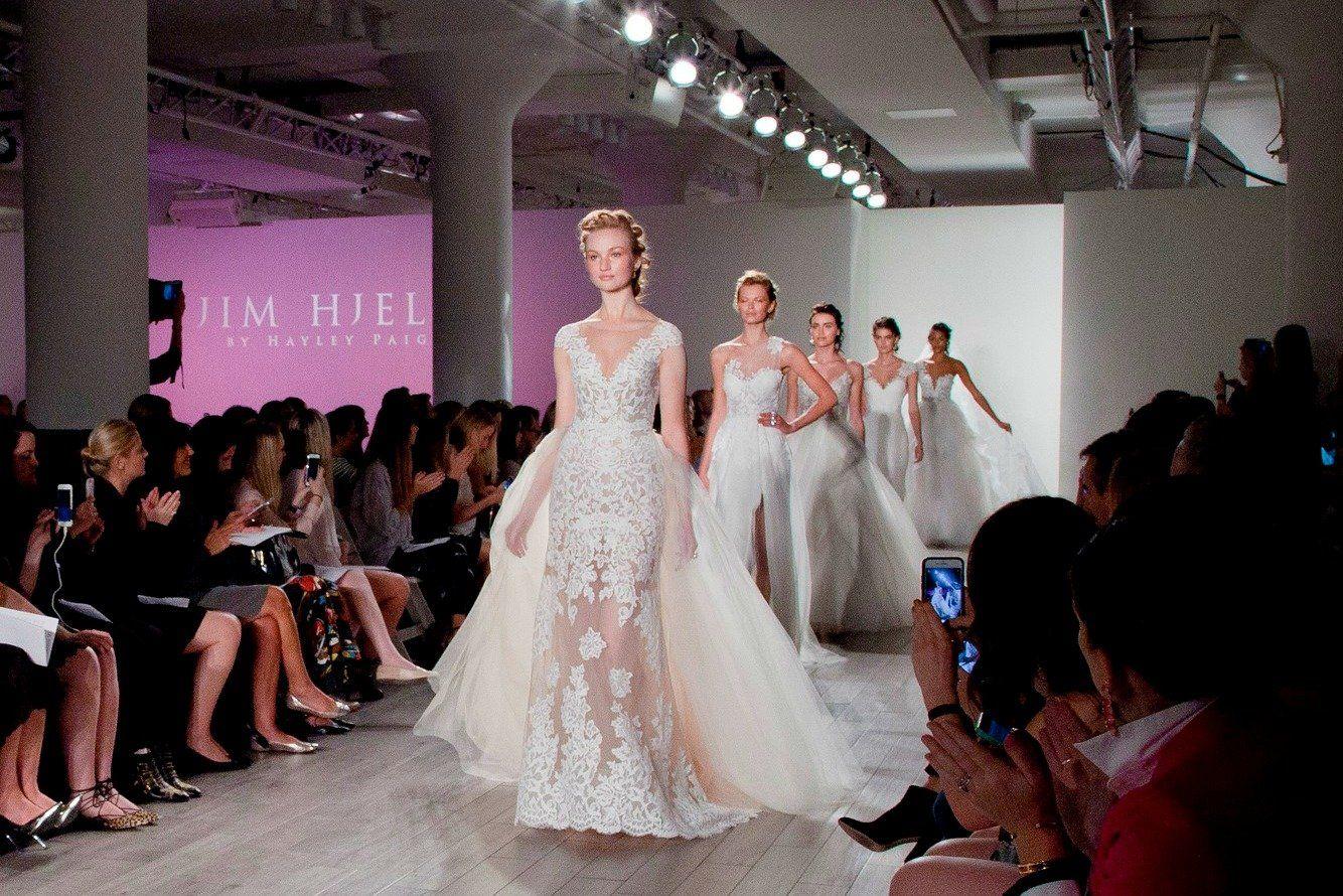 Jim Hjelm Spring 2017 | Bridal fashion week, Bridal style ...