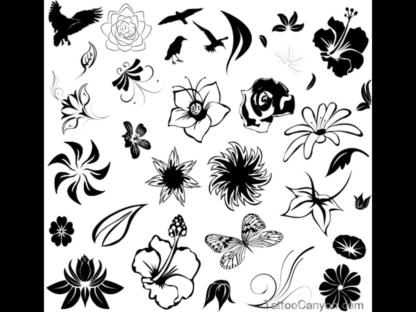 query hawaiian flower tattoos animal tattoo designs tattoo