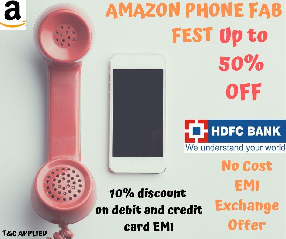 Amazon Fab Phone Fest Sale 19th 23rd December 2019