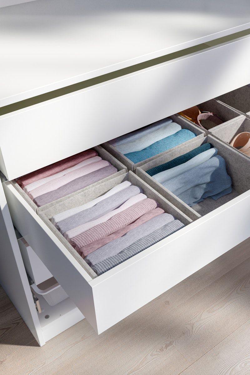 Komplement Box 4er Set Hellgrau Ikea Deutschland In 2020