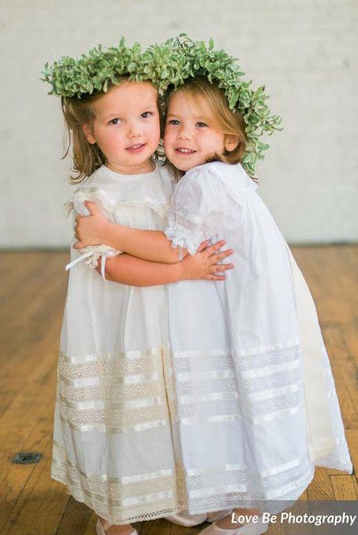 26e383197a3 Strasburg Children Lace Heirloom dresses for flower girls