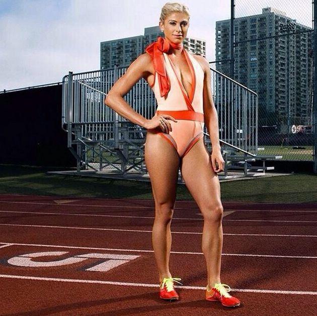 Maggie Vessey, a corredora fashionista