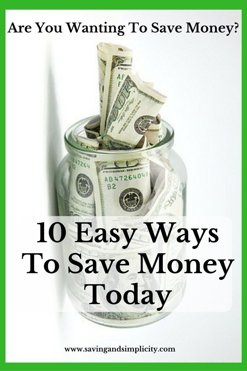 how to save money ideas