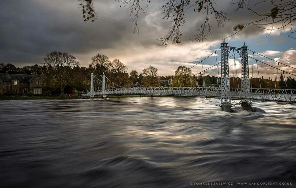 Infirmary Bridge & River Ness , Inverness