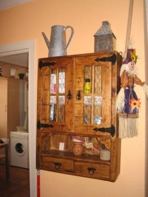 Bricolaje mueble madera palets reciclaje manualidades - Reciclaje manualidades decoracion ...
