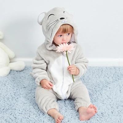 Newborn Baby Boys Girls Romper Jumpsuit Hat Outfits Halloween Cosplay Costume VT