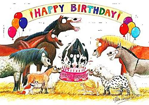 Happy Birthday Horse Art Images In Birthday Page 2 Horse Happy Birthday Image Happy Birthday Horse Birthday Greetings Funny