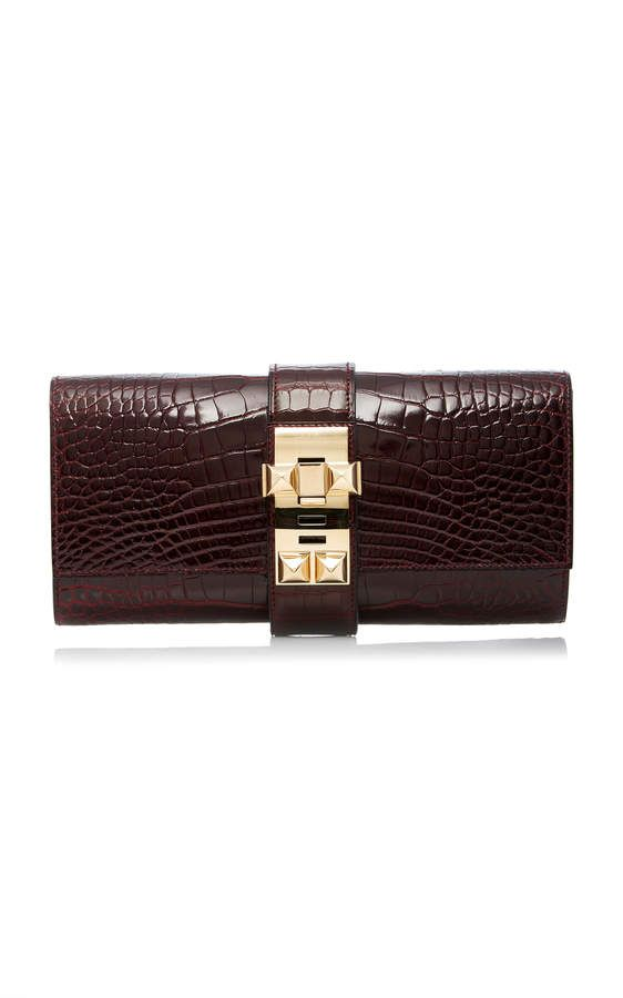 e16c63b30ef9 Heritage Auctions Special Collections Hermès 23Cm Bordeaux Shiny Alligator  Medor