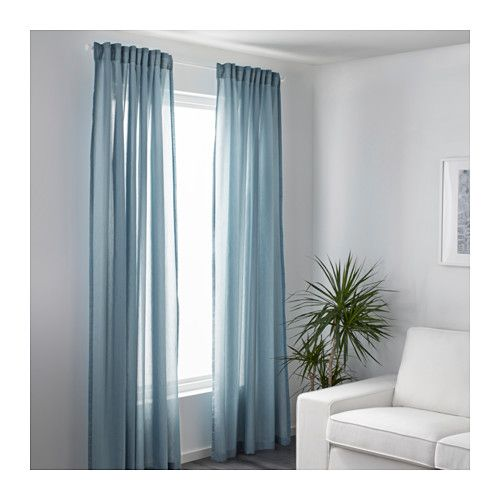 Us Furniture And Home Furnishings Light Blue Curtains Remodel