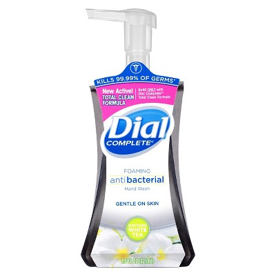 Dial Complete Soothing White Tea Foaming Anti Bacterial Hand Wash