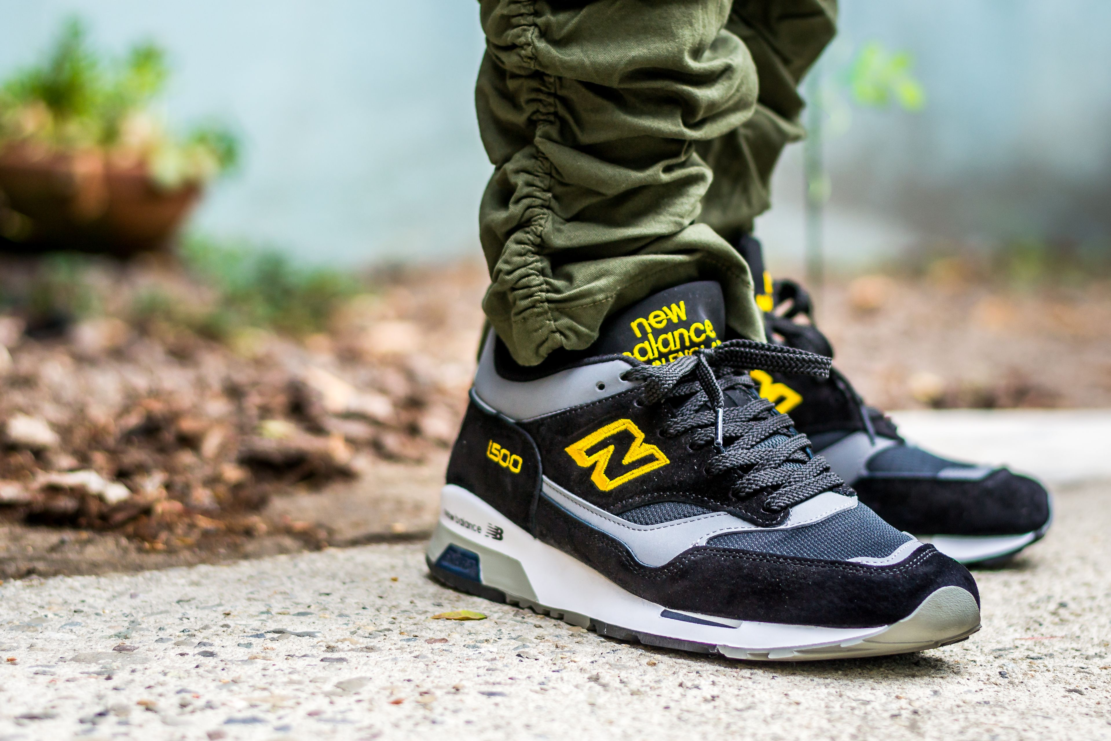 New Balance 1500 Black Yellow On Feet Sneaker Review | New