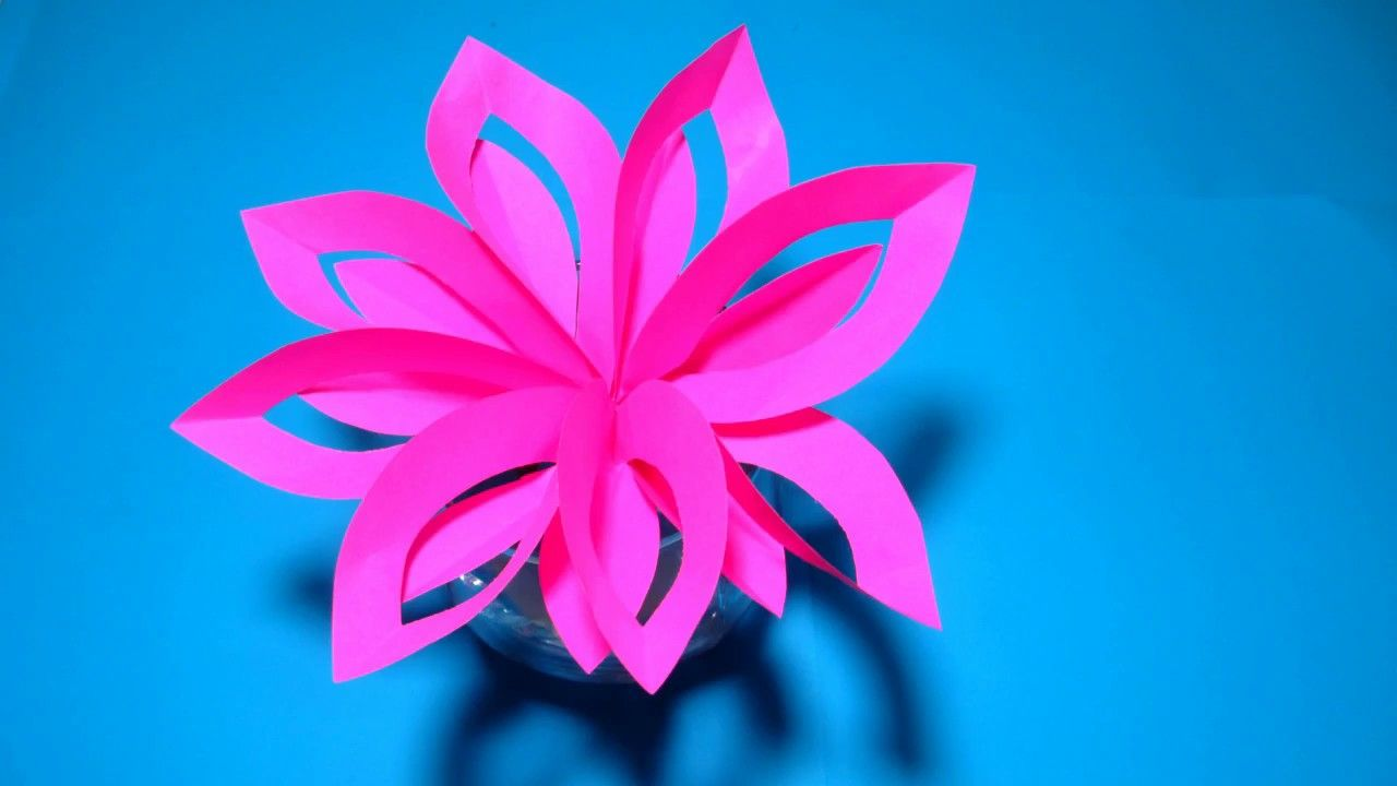 Layered paper flower cutting and folding technique for kids diy layered paper flower cutting and folding technique for kids mightylinksfo Image collections