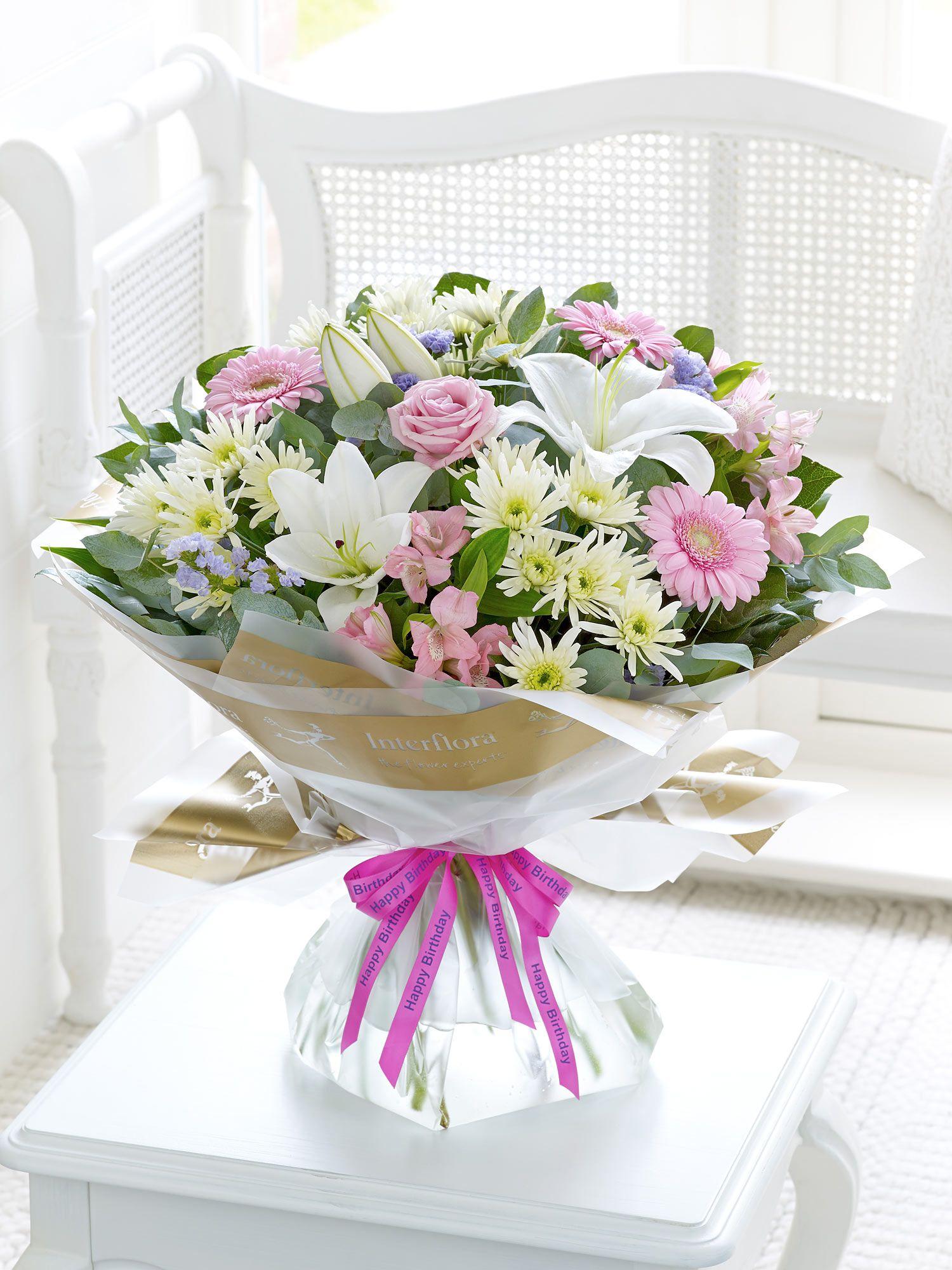 Happy birthday country garden hand tied flower arrangements happy birthday country garden hand tied izmirmasajfo