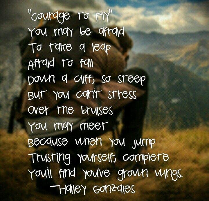 Instagramhaileygabrielle21 poems instagram courage