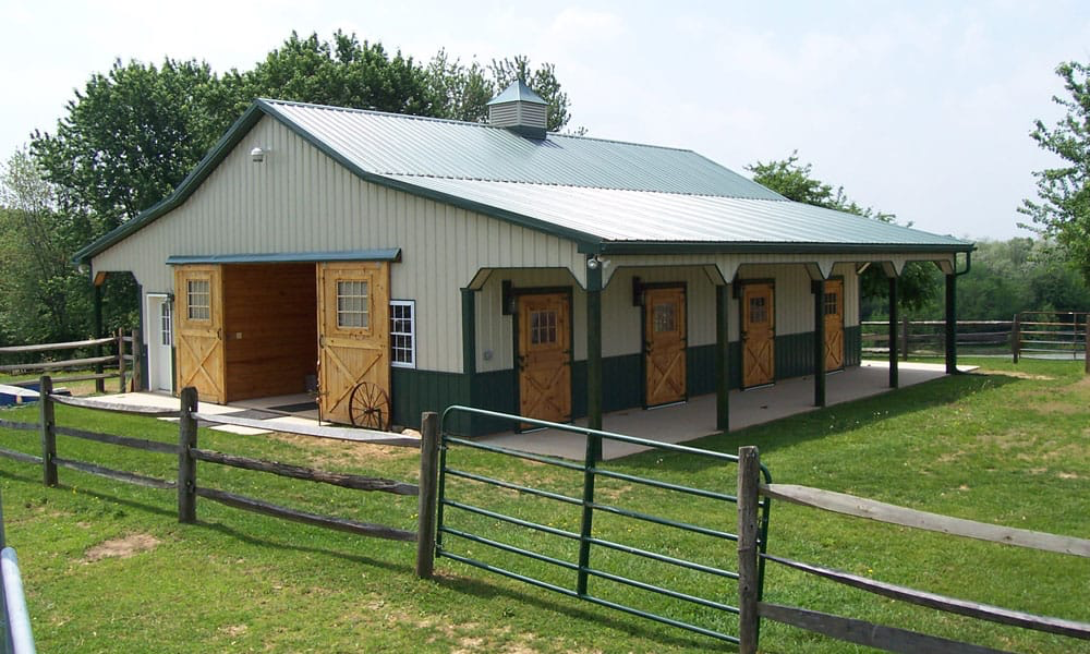 Prefab Horse Barn Kits You Ll Love Cowgirl Magazine Horse Barn Plans Horse Barn Designs Horse Barns