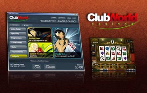 Club World Casino Register