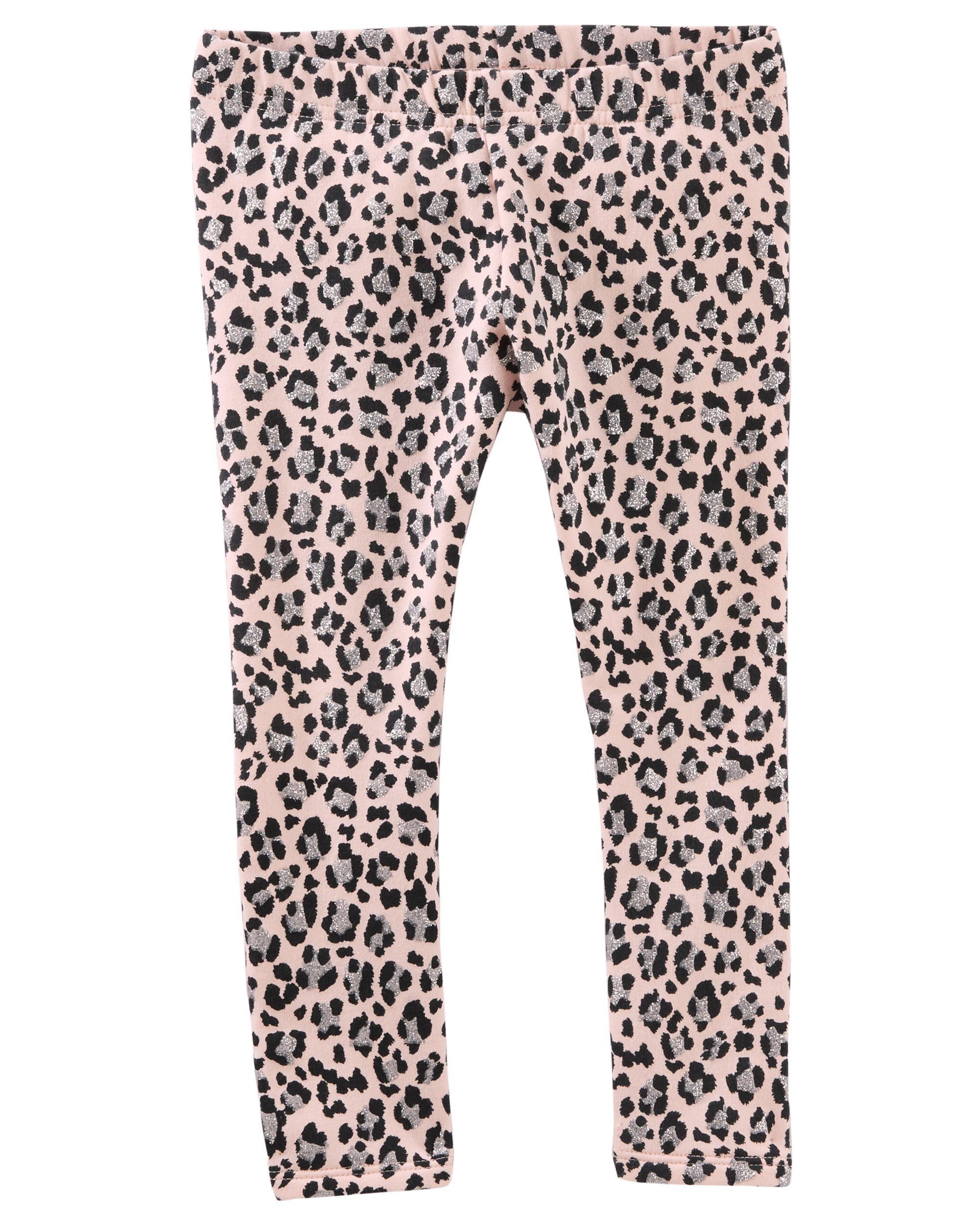 fad0c988eb52 Fleece-Lined Animal Print Leggings | Baby Girl | Baby girl leggings ...