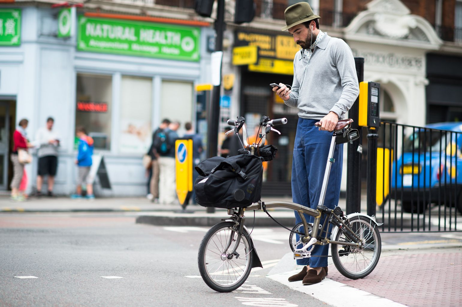 On the Streets of London Men's Fashion Week Spring 2015 - London Men's Fashion Week Street Style