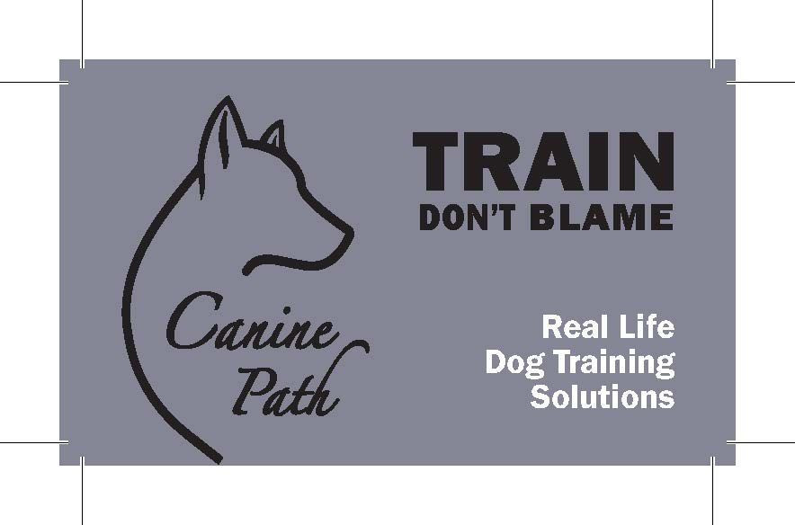 Train Don T Blame Canine Path Dog Training Services Call Us