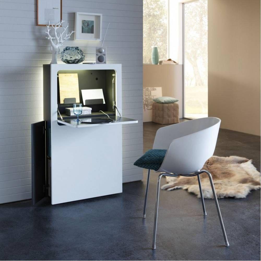 Computerkast in de kleur mat wit van het merk Urban Favorites | De ...