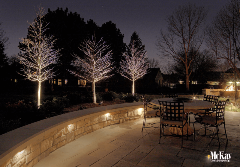 Patio Seat Wall Lighting A Beautiful Application Ideal For Patios Free Standing Features Or Steps Outdoor Patio Lights Backyard Lighting Garden Wall Lights