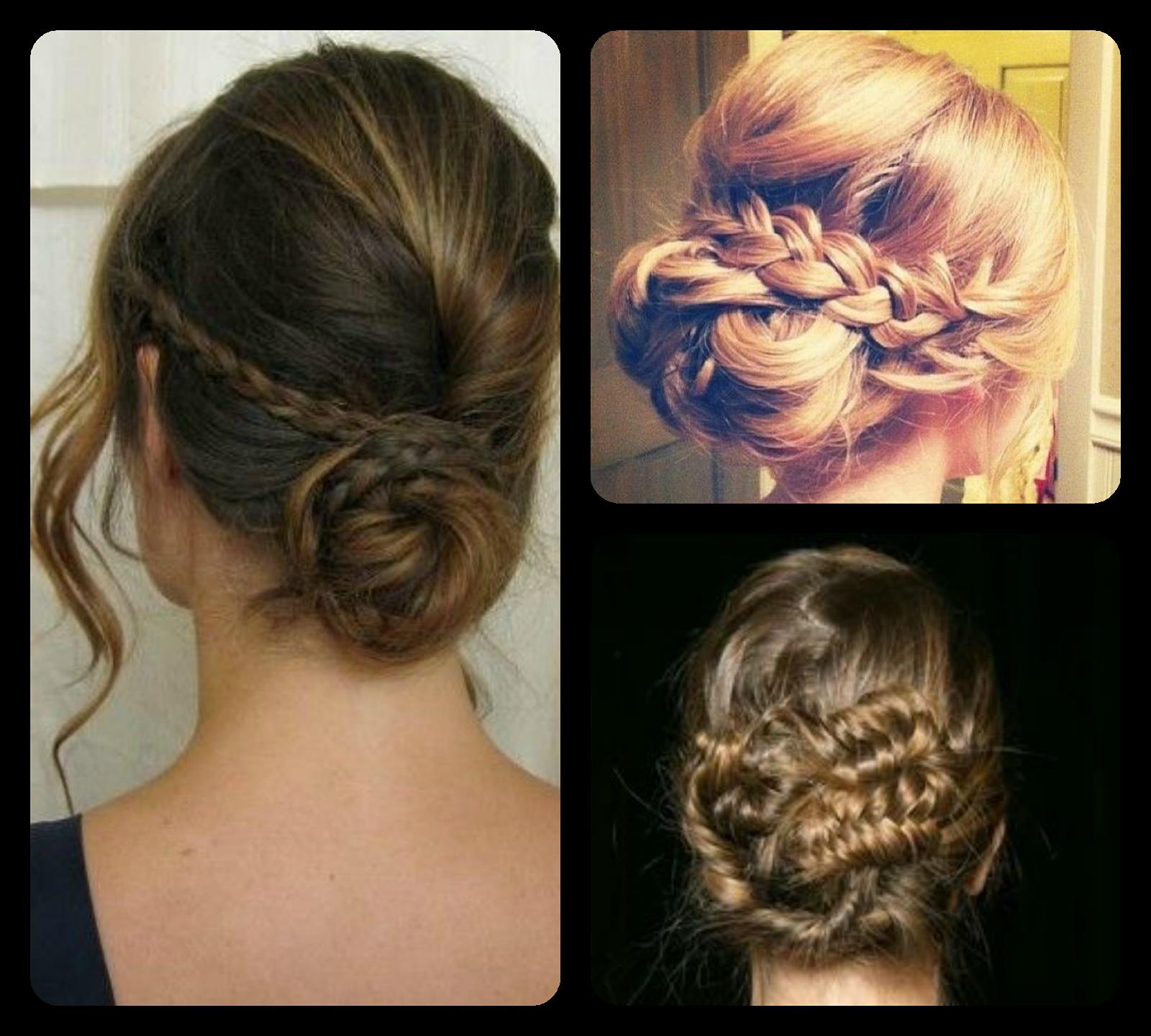 recogidos formales con trenzas braid haistyle peinados