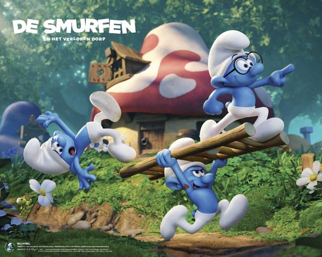 The Smurfs De Smurfen En Het Verloren Dorp Mini Poster De Smurfen Poster Dorp