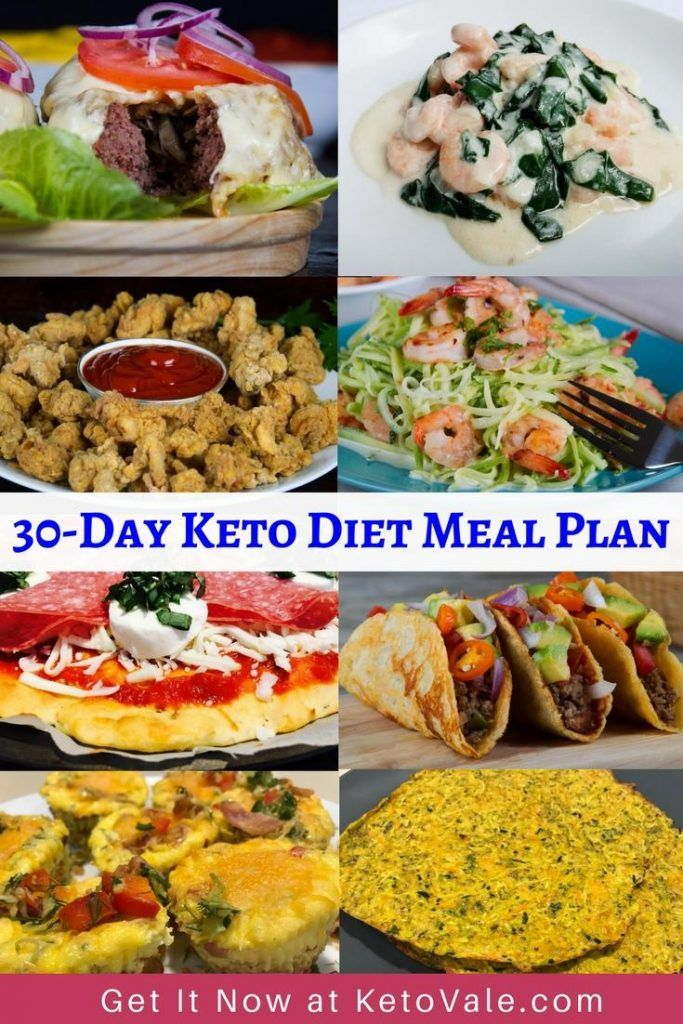 FREE 30-Day+ Low Carb Ketogenic Diet Meal Plan, Shopping ...