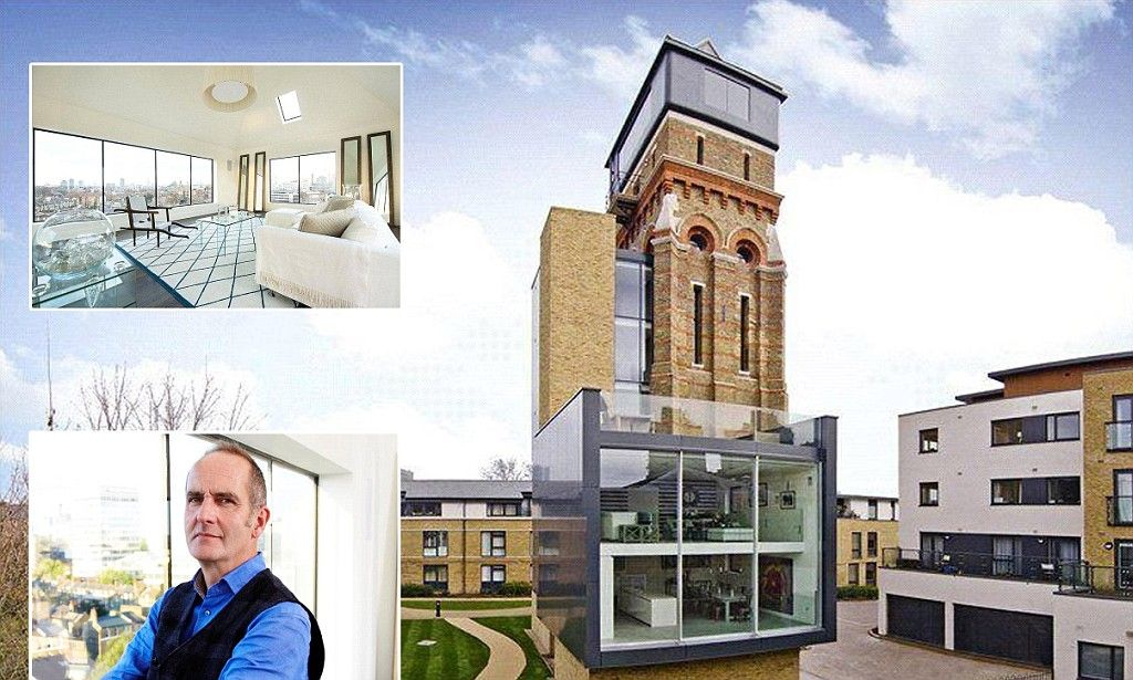 The curse of Grand Designs? Owners of nine-storey water tower that ...